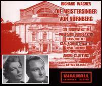 Richard Wagner: Die Meistersinger von Nürnberg (Bayreuth, 1956) - Dietrich Fischer-Dieskau (vocals); Gerhard Stolze (vocals); Gré Brouwenstijn (vocals); Hans Hotter (vocals);...