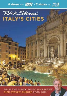 Rick Steves' Italy's Cities DVD & Blu-Ray 2000-2014 - Steves, Rick