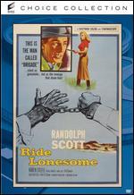 Ride Lonesome - Budd Boetticher