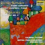 Rimsky-Korsakov: Piano Concerto; Tchaikovsky: Symphony No. 3