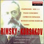Rimsky-Korsakov: Symphonies Nos. 1-3; Piano Concerto; Capriccio Espagnol; Russian Easter Overture; Sadko