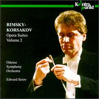 Rimsky-Korsakov: The Golden Cockerel Suite; Maid from Pskov Suite; Pan Voyevoda Suite - Odense Symphony Orchestra; Edward Serov (conductor)