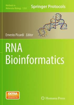 RNA Bioinformatics - Picardi, Ernesto (Editor)