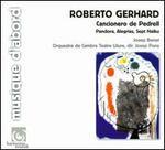 Roberto Gerhard: Cancionero de Pedrell