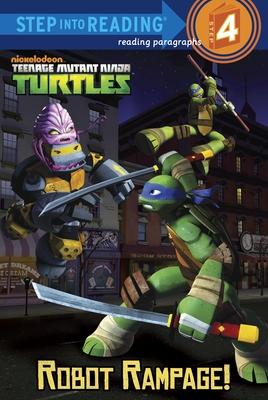 Robot Rampage! (Teenage Mutant Ninja Turtles) - Webster, Christy