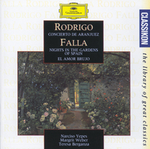 Rodrigo: Concierto de Aranjuez; Falla: Nights in the Garden of Spain; El Amor Brujo