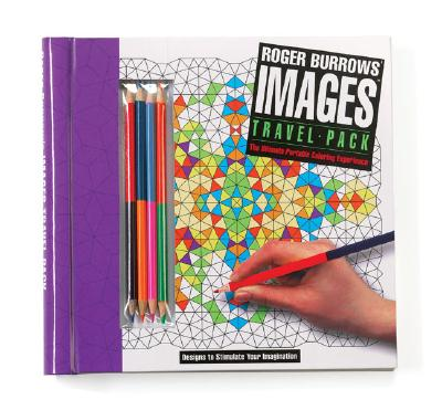 Roger Burrows\' Images Travel Pack: The Ultimate Portable Coloring ...