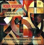 Roger Sessions: Symphonies Nos. 6, 7 & 9 - American Composers Orchestra; Dennis Russell Davies (conductor)