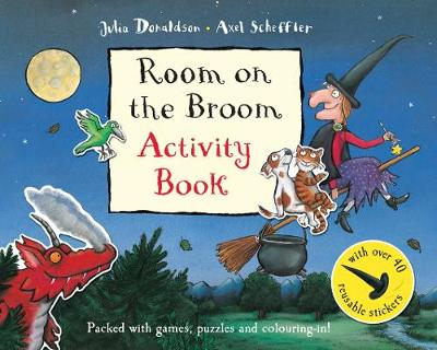 Room on the Broom Activity Book - Donaldson, Julia