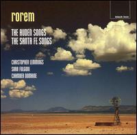 Rorem: The Auden Songs; The Santa Fe Songs - Chamber Domaine; Christopher Lemmings (tenor); Sarah Fulgoni (mezzo-soprano)