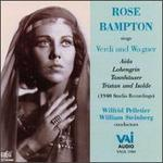 Rose Bampton Sings Verdi And Wagner