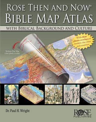 Then and Now Bible Map Transparencies, with 12 Overhead Transparencies