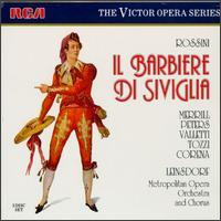 Rossini: Il Barbiere Di Siviglia - Calvin Marsh (baritone); Carlo Tomanelli (bass); Cesare Valletti (tenor); Fernando Corena (bass); Giorgio Tozzi (bass); Margaret Roggero (mezzo-soprano); Robert Merrill (baritone); Roberta Peters (soprano); Metropolitan Opera Orchestra