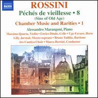 Rossini: Péchés de vieillesse, Vol. 8 - Alessandro Marangoni (harmonium); Alessandro Marangoni (piano); Bruno Taddia (baritone); Enrico Dindo (cello);...