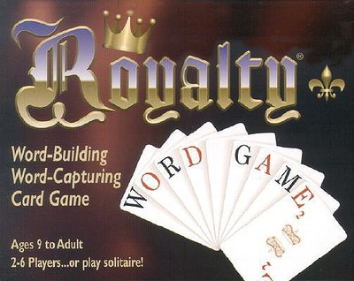 Royalty Word-Building Word-Capturing Card Game - U S Games Systems (Creator)