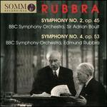 Rubbra: Symphony No. 2, Op. 34; Symphony No. 4, Op. 53