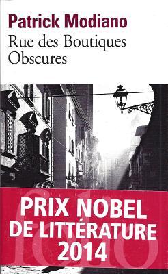 Rue Des Boutiq Obscures - Modiano, Patrick