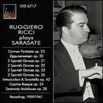 Ruggiero Ricci plays Sarasate