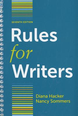 Rules for Writers with Writing about Literature (Tabbed Version) - Hacker, Diana, and Sommers, Nancy