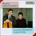 Russian Discoveries for Cello & Piano