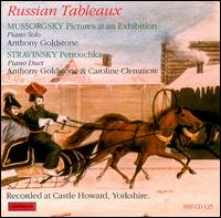 Russian Tableaux - Anthony Goldstone (piano); Caroline Clemmow (piano)
