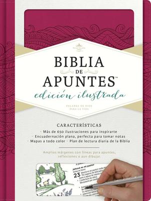 Rvr 1960 Biblia de Apuntes, Edicion Ilustrada, Simil Piel Rosado - B&h Espanol Editorial (Editor)