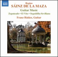 S�inz de la Maza: Guitar Music - Franz Halasz (guitar)