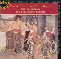 Sacred and Secular Music from Six Centuries - David James (counter tenor); John Potter (tenor); Michael George (bass); Paul Hillier (baritone); Rogers Covey-Crump (tenor);...