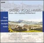 Sacred Vocal Music from 18th Century Switzerland