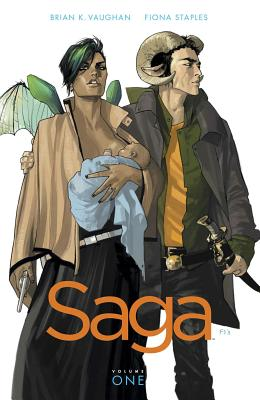 Saga Volume 1 - Vaughan, Brian K, and Staples, Fiona (Artist)