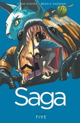 Saga, Volume 5 - Vaughan, Brian K, and Staples, Fiona