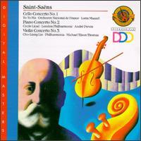 Saint-Sa�ns: Concertos - Cecile Licad (piano); Yo-Yo Ma (cello)