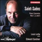 Saint-Saëns: Piano Concertos Nos 1, 2, and 4