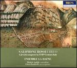 Salomone Rossi Ebreo: A Jewish composer in XVIIth Century Italy