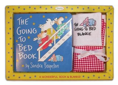 Sandra Boynton's the Going to Bed Book! & Embroidered Blankie -