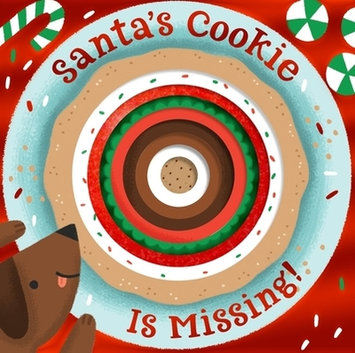 Santa's Cookie Is Missing! (Board Book with Die-Cut Reveals) - Houghton Mifflin Harcourt