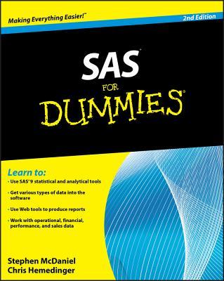SAS for Dummies - McDaniel, Stephen, and Hemedinger, Chris