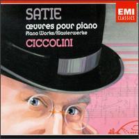 Satie: ?uvres pour piano - Aldo Ciccolini (piano)