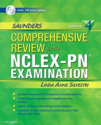 Saunders Comprehensive Review for the Nclex-Pn? Examination - Silvestri, Linda Anne, PhD, RN
