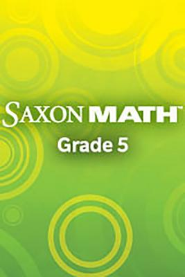 Saxon Math 6/5: Solution Manual 2004 - Various, and Hake, and Saxon Publishers (Prepared for publication by)