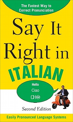 Say It Right in Italian - Epls