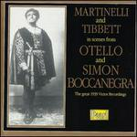 Scenes from Otello and Simon Boccanegra