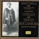 Scenes from Otello and Simon Boccanegra