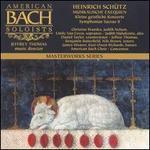 Sch�tz: Musikalische Exequien; Kleine geistliche Konzerte; Symphoniae Sacrae II