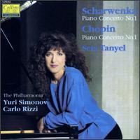 Scharwenka: Piano Concerto No.1/Chopin: Piano Concerto No.1 - Philharmonia Orchestra; Seta Tanyel (piano)