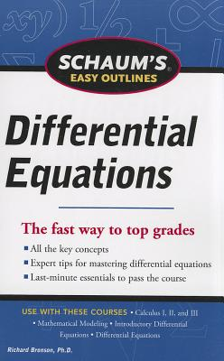 Schaum's Easy Outlines Differential Equations - Bronson, Richard