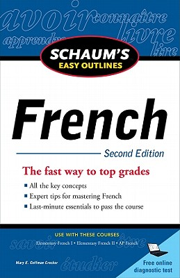 Schaum's Easy Outlines: French - Crocker, Mary Coffman