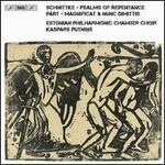 Schnittke: Psalms of Repentance; Pärt: Magnificat & Nunc Dimittis