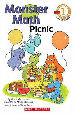 Scholastic Reader Level 1: Monster Math Picnic - Maccarone, Grace