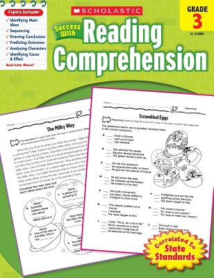 Scholastic Success with Reading Comprehension, Grade 3 - Scholastic